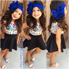 I luv this........ she's so cute........ when/if I have have a girl I'm gonna dress her in stuff like this