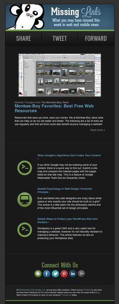 Monkee-Boy Missing Links: Best Free Web Resources Mobile News, Missing Link, Saving Money, Psychology, Wordpress, Web Design, Geek, Content, Boys