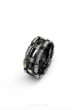 SIZE: just over US 12. (12 1/5 to be exact) It can be made in any size you need - just send me a message :) smaller sizes cost less    Band width: 10mm,   Inner diameter: 23mm