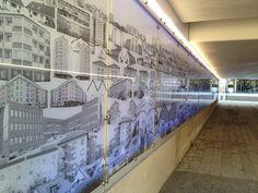 Fotografier gångtunnel