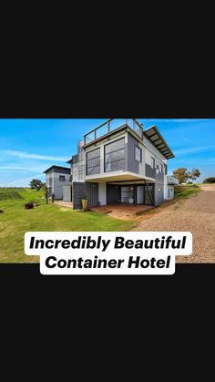Cargo Container Homes, Shipping Container Home Designs, Building A Container Home, Container Buildings, Container Architecture, Container House Design, Tiny House Design, Sustainable Architecture, Box Houses