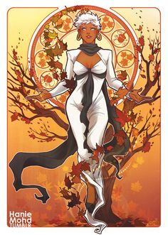 Storm For All Seasons X-Men Art Series by Hanie Mohd — GeekTyrant