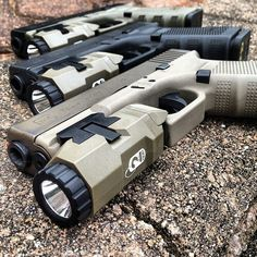Glock with Inforce APL model light. Good combination for Home & Personal Defense when coupled with our solid training!