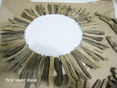 I'VE SEEN  some great examples of driftwood mirrors that got me thinking...                  ...I could make one of those! Of course sourcin...