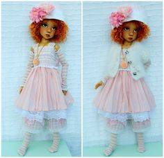 Set by Barbara for dolls  Kaye Wiggs (MSD)