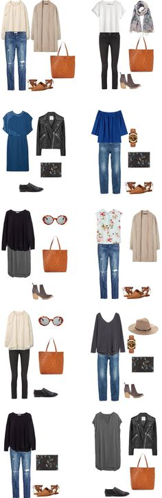 What to Wear in London England Outfit Options 11-20 #travellight #packinglight…