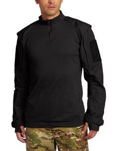 Propper Men's TAC.U Combat Shirt, Black, Large Long
