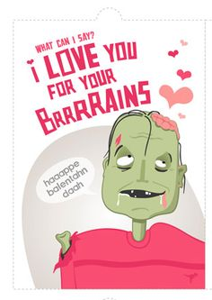 Schön Valentine Zombie