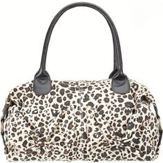 Volcom Pure Fun Handbag ~ Leopard Print @Tilly's
