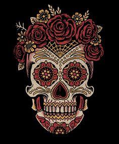 Saint Añejo Sugar Skulls by Derrick Castle