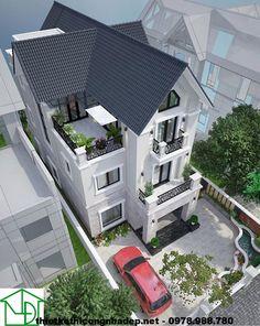 Biệt thự đẹp 3 tầng NDBT3T1