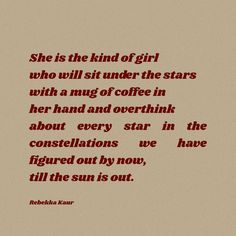 Honestly, this is the best activity for those who love stars to recharge their batteries. Just grab a cup of coffee or a nice book in your hand and gaze at vast expanse of this universe and feel how tiny we are in all this. #poem #poetry #famouspoems #shortpoems #shortpoetry #starspoems #poemsonstars #poetryonstars #rebekkakaur #starsquotes #tumblrpoems #poemaesthetics #quotes