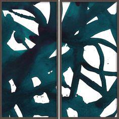 Malta Indigo Triptych – Bandhini - Design House