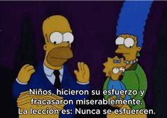 Y cuando se trata de encontrar la moraleja después de situaciones difíciles: | 14 Veces en las que Homero Simpson demostró ser el mejor papá del mundo