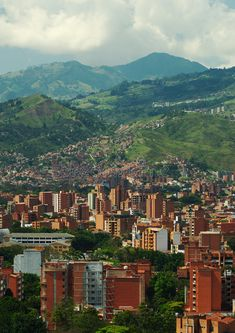 Photo about Medellin, the second biggest city in Colombia, which is the capital of the Department of Antioquia. Image of hill, tree, america - 16238767 Oh The Places You'll Go, Places To Travel, Places To Visit, Colombia Travel, Smart City, South America Travel, Future Travel, Travel Abroad, Latin America