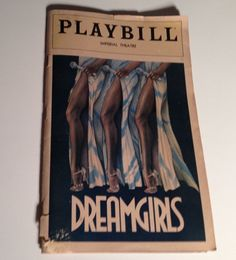 Playbill 1981 Dream Girls Imperial Theatre Sheryl Lee Ralph NYC Broadway Theater