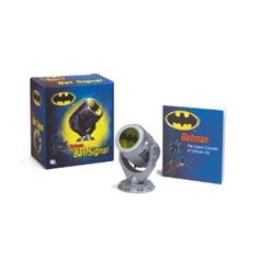 This miniature version of the iconic Bat-Signal is a must-have for Bat-fans everywhere. Fans can call upon the Dark Knight himself with this replica of the Bat Signal, which projects the famed Batman symbol. Mini Batman, I Am Batman, Batman Party, Batman Birthday, 4th Birthday, Batman History, Batman Signal, Swag, Desk Toys