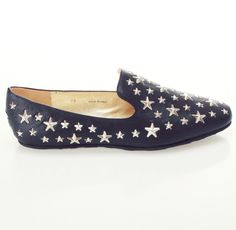 Stars Studded Loafers