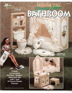 Free Stuff: barbie plastic canvas bathroom furniture pattern - Listia.com Auctions for Free Stuff