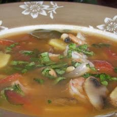 Thai Hot and Sour Soup Recipe (with Tamarind) :))