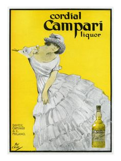 Cordial Campari vintage poster