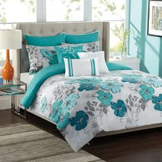 KS Studio Clara Comforter Set Kohls. Oh My Heart! I want this sooo bad! It has too much white I think to be practical for me but I love it!!