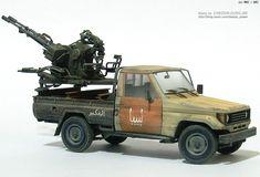 MMZ - PICK UP w/ZU-23-2 (vignette)