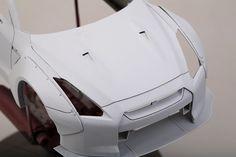 LB Performance Nissan Detail-up Set Nissan R35, R35 Gtr, Wide Body Kits, Metal Pins, Tamiya, Mounting Brackets, Decals, Resin, Sci Fi