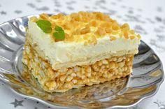 Szybkie, pyszne i bardzo efektowne ciasto bez pieczeniaLion to smakołyk inspirowany popularynym batonikiem, idealny na deser dla wszystkich Smakowite Dania