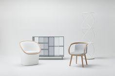junpei tamaki design expresses fluffy snow in thaw sofa - designboom   architecture & design magazine