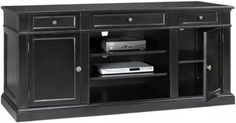Martha Stewart Living™ Larsson TV Stand  Showcase Your Home Theater with This Chic and Sophisticated TV Stand  Item # 04139