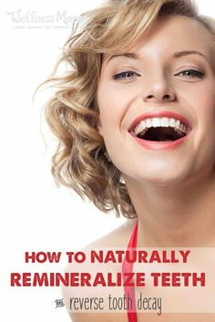 How to Remineralize Teeth Naturally - Teeth whitening Teeth Whitening Methods, Natural Teeth Whitening, Whitening Kit, Teeth Health, Healthy Teeth, Oral Health, Dental Health, Health Tips, Healthy Junk