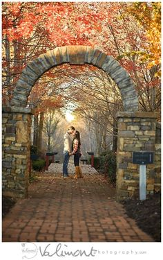 Fall Engagement photography in Atlanta by Danielle Valimont of Valimont photography