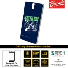 Buy Green Day Mobile Cover & Phone Case For One Plus One at lowest price online in India only at Skin4Gadgets. CASH ON DELIVERY AVAILABLE