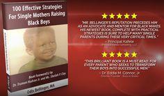 100 Strategies for Single Mothers Raising Black Boys #Books #BlackBoys #Parenting #fatherless
