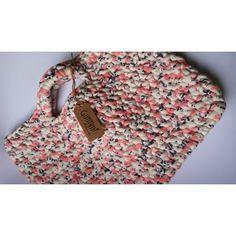 Bolsa em crochê - Porta Notebook - Fio de malha ecológico