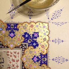 Islamic Art Pattern, Arabic Pattern, Pattern Art, Beautiful Calligraphy, Islamic Art Calligraphy, Illuminated Letters, Illuminated Manuscript, Arabesque, Persian Motifs