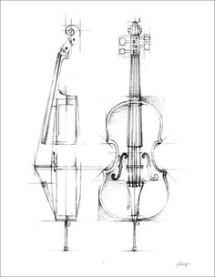 Ethan Harper Solid-Faced Canvas Print Wall Art Print entitled Cello Sketch, None Cello Kunst, Cello Art, Cello Music, Music Drawings, Art Drawings Sketches, Pencil Drawings, Kunst Poster, Industrial Design Sketch, Find Art