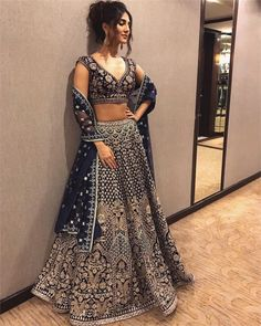 """3,044 Likes, 15 Comments - Desi Couture (@desi_couture) on Instagram: """"@_vaanikapoor_ in @anitadongre """""""