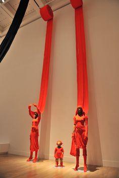 "NATIONAL ART CENTER, Tokyo, Japan, ""Issey Miyake Retrospective Exhibition"", pinned by Ton van der Veer"