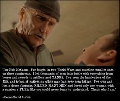 Image result for secondhand lions quote