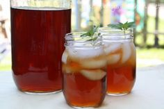 Mommy's Kitchen - Home Cooking & Family Friendly Recipes: Southern Sun Tea {My Favorite Summer Drink}