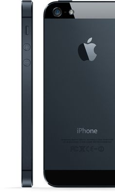 Black/slate iPhone 5 looks beautiful! Time to optimize my apps! #apple