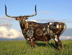Slideshow: John Lopez's Spectacular Scrap Sculptures   American Craft Council