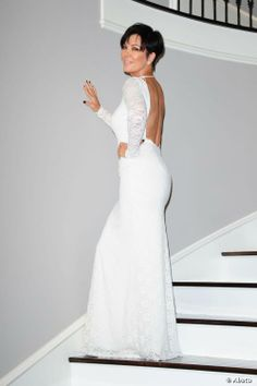 Kris Jenner Stylishly Gowned for an evening out <3