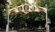 Wanhan Kauppalan kierrokset Beautiful Landscapes, Pergola, Outdoor Structures, Places, Outdoor Decor, Finland, Outdoor Pergola, Lugares, Pergolas