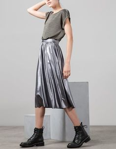 FOIL EDITION for woman at Stradivarius online. Visit now and discover the FOIL…