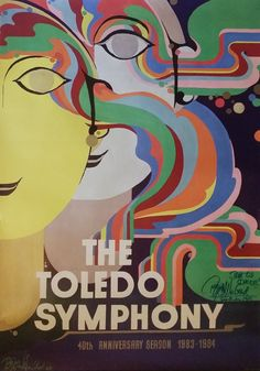 1983 Bjørn Wiinblad's The Toledo Symphony by OutofCopenhagen