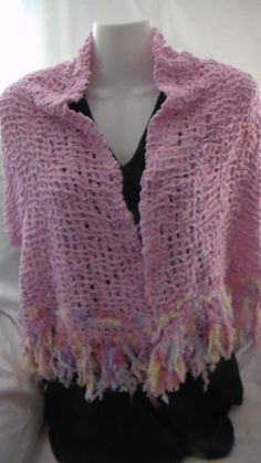 This is another winter Scarf  that I have made to sell - it's more then a Scarf it is like little Jacket