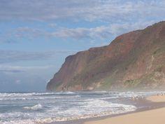 beach at Polihale state park Kauai